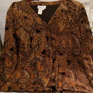 Cold water Creek Misses Blouse/Jacket